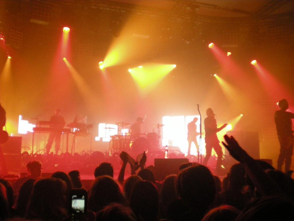 A live concert