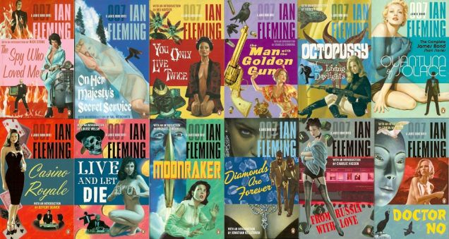 James Bond Book Covers
